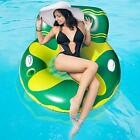 Inflatable Swimming Pool Float for Adult Pool Lounger Float with Cup Holder and