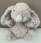 Jellycat Small Yummy Pansy Bunny Beige Rabbit baby Soft Toy Comfort floral ears