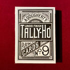 Tally Ho Black Silver Flame Tomo Maeda Limited Edition OHIO Playing Cards Japan