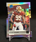 2020 Chase Young Rated Rookie Die Cut Press Proof 38 75 Washington Redskins