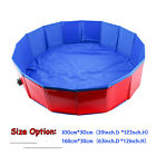 2 Size Pet Swimming Pool Portable Foldable Dogs Cats Bathing Tub 12 x 39 63