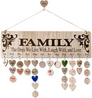 Unique Mothers Day Gifts for Moms Grandma  Wooden Family Birth