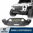 Full Width Front Bumpers Fit Jeep Wrangler Toyota Tacoma Tundra Ford F150 Black