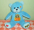 NYC Empire State Building Beanie Soft Toy Plush Bear New York USA