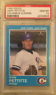 1995 Police Andy Pettitte Columbus Clippers PSA 10 Gem Mint Yankees