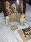 Enesco A NATIVITY PAGEANT 4Pc Set Memories of Yesterday Lucie Attwell 1994