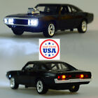 1970 Dodge Charger Diecast Car Toys Action Figure Model 1 32 Scale Collectible
