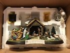 Danbury Mint The Nativity Light Up Christmas Decoration 13 x 65 Original Box