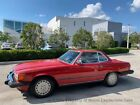 1989 Mercedes Benz 560 Series 560SL Roadster Hardtop Convertible R107 Classic 1989 560SL Roadster Hardtop Convertible One Owner Low Miles Clean Carfax