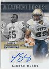 2016 Panini Pittsburgh Panthers Collegiate Trading Cards 13
