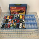 1983 MATCHBOX Official Collectors Carry Case With Die Cast Cars Vehicles Vintage