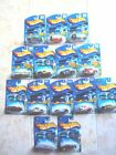 Lot of 14 Hot Wheels Treasure Hunts 2001 2004 12 w Real Riders on cards