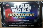 2021 Topps Star Wars Signature Series Factory Sealed Hobby Box Autograph auto