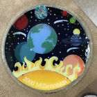 Peggy Karr Glass 2000 Millennium 14 Signed Tray Planets Solar System