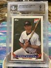 1993 Todd Helton Bazooka Team USA RC BGS 9 Mint (2 9.5s ) EXTREMELY RARE POP 38