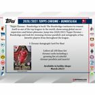 2020-21 TOPPS CHROME BUNDESLIGA SOCCER FACTORY SEALED HOBBY BOX PRE SALE