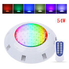 AC 12V 54W RGB Swimming Pool LED Lights Spa Underwater Light IP68 Waterproof