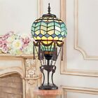 Steampunk Hot Air Balloon Illuminated Stained Art Glass 275 Statue Table Lamp