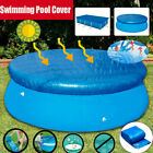 6 10ft Round Above Ground Swimming Pool Cover Tarp Rope For Intex Easy Fast Set