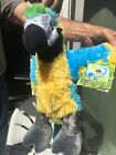 Build A Bear Zoorrific Parrot Skin NEW With Tags And Blue Glass Eyes Retired