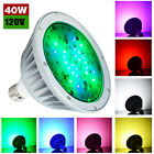 1 4PCS LED Color Pool Light Bulb for in ground pool120V 40W RGBW Color Changing