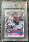 2014 Topps Archives Major League Charlie Sheen-Ricky Vaughn Auto Variation #4 10