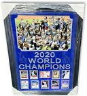 2020 Los Angeles Dodgers Signed Autographed World Series Collage 10 Autos