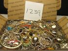 Large Vintage to Now Estate Find Jewelry Lot JUNK DRAWER Unsearched Untested