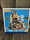 RARE LEMAX Holiday House Village EXCLUSIVE MENARDS SAW MILL Animated Sight Sound