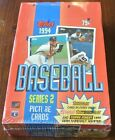 FACTORY SEALED 1994 TOPPS SERIES 2 BASEBALL 36 UNOPENED WAX PACK BOX