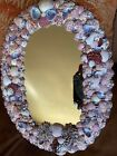 Beautiful Handcrafted SEA SHELL Mirror 17 3 4 x 13 1 2
