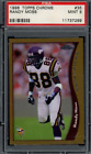 Randy Moss Rookie Cards and Autographed Memorabilia Guide 12