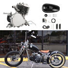 New 50cc 2 Stroke for 26 or 28 Bicycle Silver Bicycle engine kit tool repair