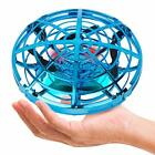 Hand Operated Mini Drone for Kids Small UFO Flying Ball 360 Rotating LED Light