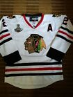 NWT 2015 Chicago Blackhawks Duncan Keith Authentic Reebok 2.0 Stanley Cup Jersey