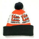 Vintage Retro 1970s Mens Beanie Cap Hat My Dad Forklifts Lifter Construction