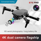 S70 PRO Drone 4K HD Dual Camera WiFi FPV 108 RC Foldable Height Keeping Drone js