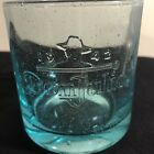Don Julio Tequila Glass Mexico Recycled Glass Teal Low Ball Coctail Tumbler 10oz