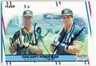 MARK MCGWIRE JOSE CANSECO 1988 Fleer #624 AUTOGRAPH SGC AUTO DUAL SIGNED A's
