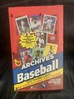 2019 Topps Archives Baseball Factory Sealed 24 Pack HOBBY Box-2 AUTOS