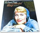 Patti Page Signed Autograph Record Album Cover Say Wonderful Things JSA NN44682