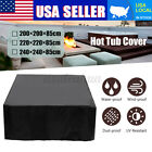 3 Size Hot Tub Spa Cover Cap Guard Outdoor Waterproof Dust Protector Case