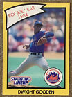 1989 Kenner Dwight Gooden New York Mets Starting Lineup R.O.Y. Card