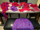 Red Hat Society Collectibles Hats Scarves Hanky Bag Hair Pin Jewel box