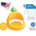 Outdoor Baby Swimming Pool 40 Inch Toddler Inflatable Pineapple Shape Pool
