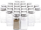 Glass Salt and Pepper Shakers 24 Pack