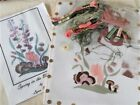 Silk Ribbon Embroidery Kit Lynn Payette Spring in the Woodland