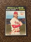 Bryce Harper 2020 topps heritage red auto autograph #49 71