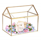 Mostbest Glass Wedding Card Box Glass Gift Boxes Terrarium Card Holder Perfect