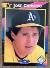 1992 JOSE CANSECO - Kenner Starting Lineup Card - OAKLAND ATHLETICS #33